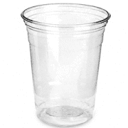 thermoformed cup