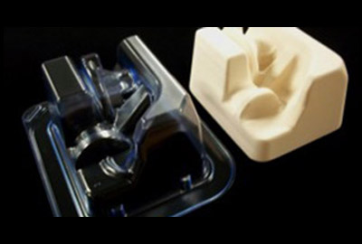 FLX plug and thermoformed medical tray