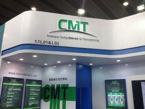 New CMT booth at Chinaplas